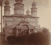 Собор Бориса и Глеба. Фото 1911 г. Проскудин-Горский
