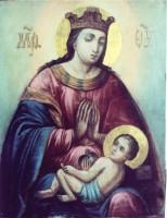 чудотворная икона Божией Матери Умиление-Ростовская в Никольском храме